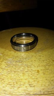 Diamond Tungston size 8 wedding ring