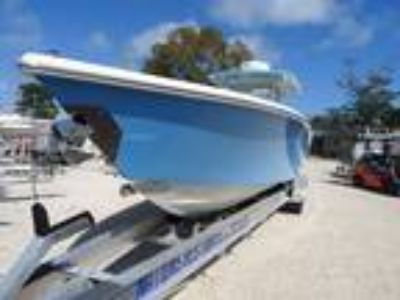 36' BlackWater 36 CC forward seating 2015