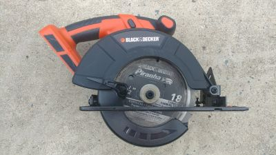 Black and Decker 24V Circular Saw (Tool Only)