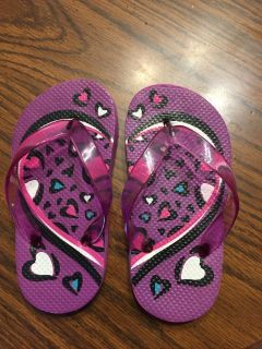 Girl toddler flip flops