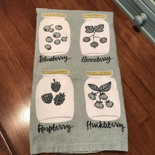 Adorable Dish Towel; Like New; $2; One Canoe Two Brand; Swipe to See More Pics