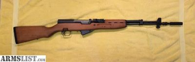 For Sale: Yugoslavian SKS Rifle Chambered in 7.62x.39mm Like New