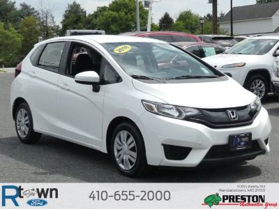 2016 Honda Fit (White Orchid Pearl)