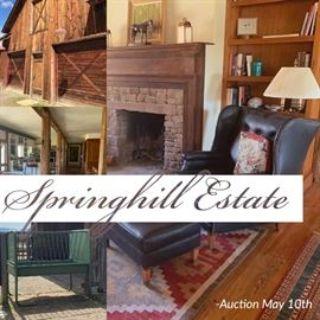 Springhill Estate Auction