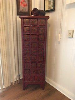 ANTIQUE CHINESE MEDICINE CAB