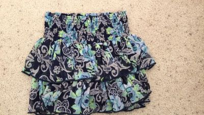Justice size 10 skirt for girls like new