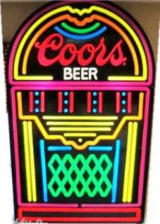 Jukebox Coors Sign  ( 4 FT. Tall x 32 Inches Wide ) Man Caves Dream