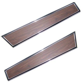 Buy 71-73 1971 1972 1973 MUSTANG DELUXE DOOR PANEL WOODGRAIN TRIM PANELS, PAIR motorcycle in Sheffield Lake, Ohio, US, for US $229.95