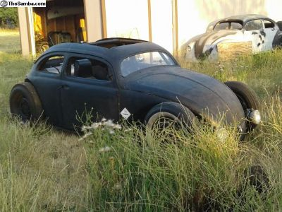 Oval Rat Rod - wedge chopped and channeled