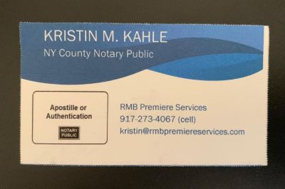 UPPER WEST SIDE IN-STORE NOTARY PUBLIC SERVICES (Mon