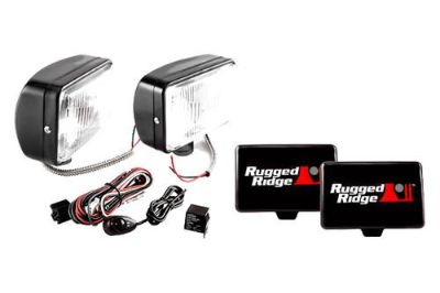 Find Rugged Ridge 15207.55 - Off Road Black Fog Light Kit 1 Pc motorcycle in Suwanee, Georgia, US, for US $100.95