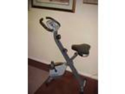 Stamina Cardio Folding Exercise Bike with Heart Rate Sensor
