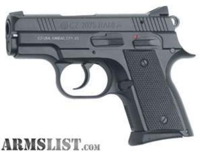 For Sale: New in box CZ 2075 RAMI 9MM