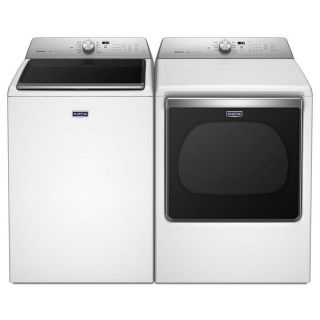 SALE ** Maytag Top Load Washer and Dryer Set / Pair MVWB835D/MEDB835DW
