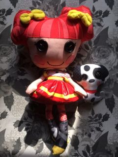 Adorable lalaloopsy doll and her puppy