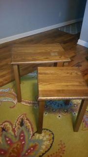 Nesting side tables $15