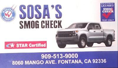 Sosa's Smog Check