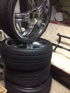 Tires and rims 4 of them