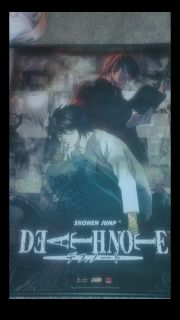 Death Note anime wall scroll