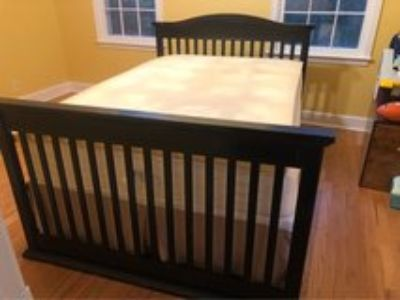 Armoire and Convertible Crib/Full