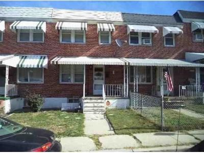 2 Bed 1 Bath Foreclosure Property in Baltimore, MD 21211 - Newport Ave