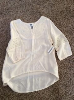 Nwts old navy top size 6/7