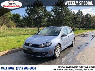 2011 Volkswagen Golf TDI (Blue)