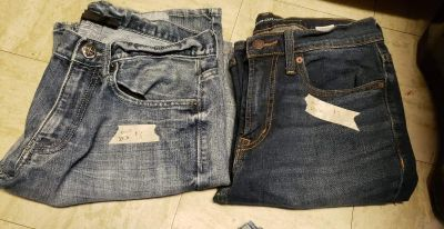 Mens 29 30 jeans no holes or rips