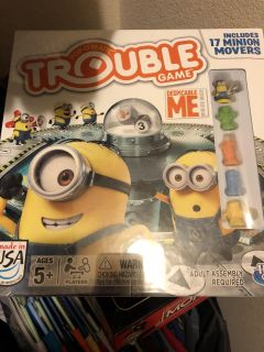 Despicable Me Trouble game