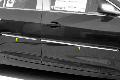 Sell SAA MI53105 2013 Chevy Malibu Body Side Molding Polished Car Chrome Trim motorcycle in Westford, Massachusetts, US, for US $88.32
