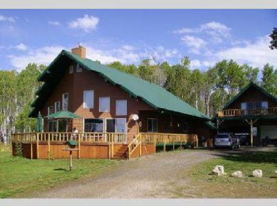$569,000 Idaho Mountain Cabin on 3.67 Acres