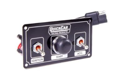Find QuickCar Ignition Control Panel Black 2 Toggles/1 Push Button motorcycle in Lincoln, Arkansas, United States, for US $69.95