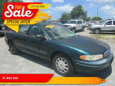 2001 Buick Century Custom (Green)