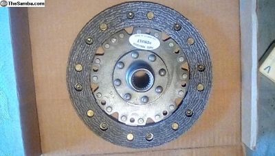 VW Type 1, 2, 3 clutch disc rebuilt new