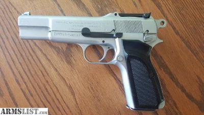 For Sale/Trade: Fabrique nationale d'armes de guerre herstal belgique hi power 9mm