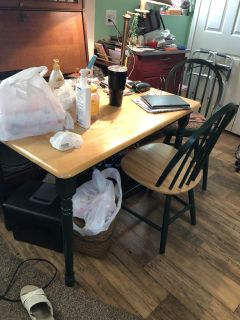Small 4 chair dining table