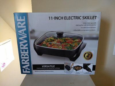 Electric Skillet - 11 inch - New - Never opened