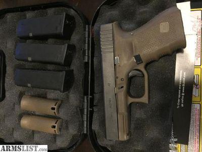 For Sale: Glock 23 Gen4 FDE