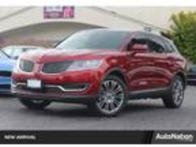 Used 2016 Lincoln MKX RED, 49.9K miles