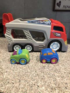 Kid connection car transporter.