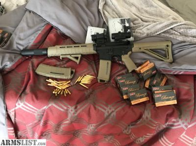 For Sale: Complete rock river AR15 with upgrades