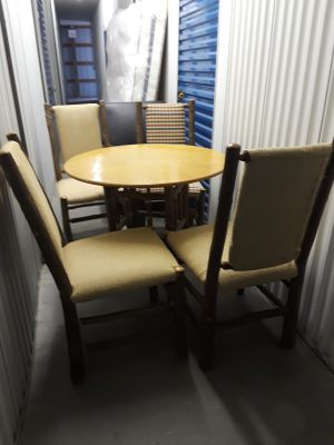 Log Cabin table and chairs