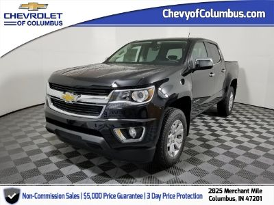 2018 Chevrolet Colorado LT (black)