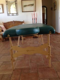 "Massage Table (Leather) by Earth Lite ""Spirit """