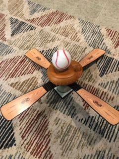 Hunter baseball ceiling fan 44