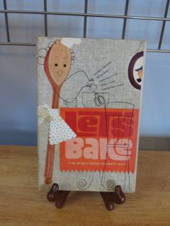 "Cookbook~""Lets Bake"" 1964"