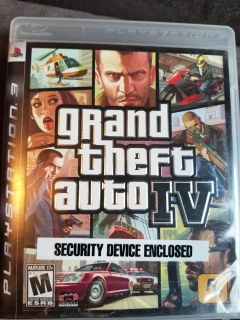 Grand Theft Auto IV (4) for the Playstation 3 PS3 GTA 4