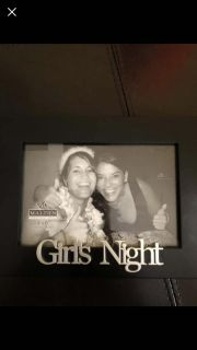Girls Night 4x6 picture frame