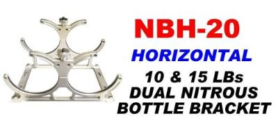 Buy Horizontal Double Nitrous Bottle Billet Brackets for Two 10lb or 15lb bottles. motorcycle in Port Orange, Florida, United States, for US $290.00