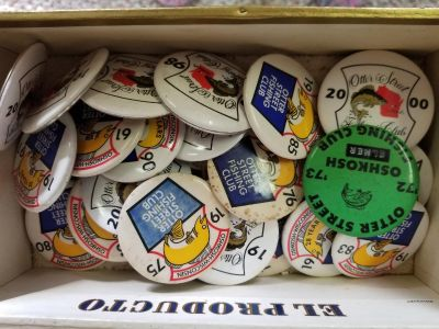 Otter Street Fishing Club Collector Pins